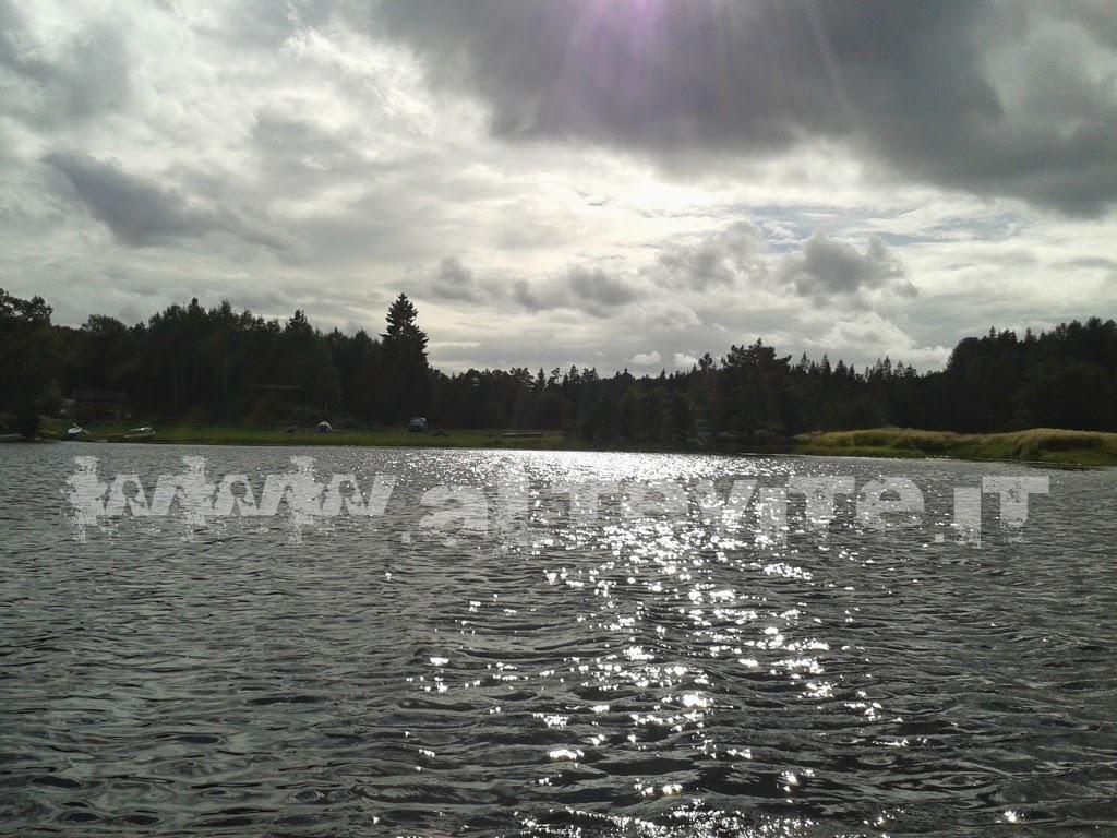 campeggio lago norvegia