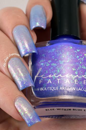 Femme Fatale Blue-Within-Blue Eyes
