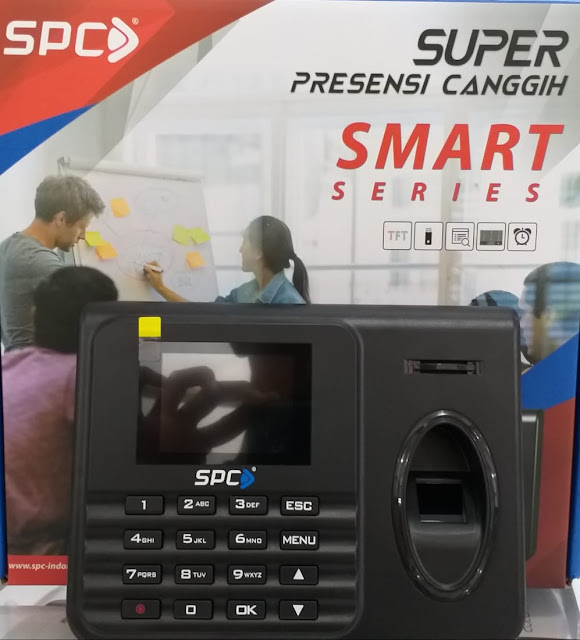 Cara Setting Jam Kerja Fingerprint SPC 8000 Smart Series