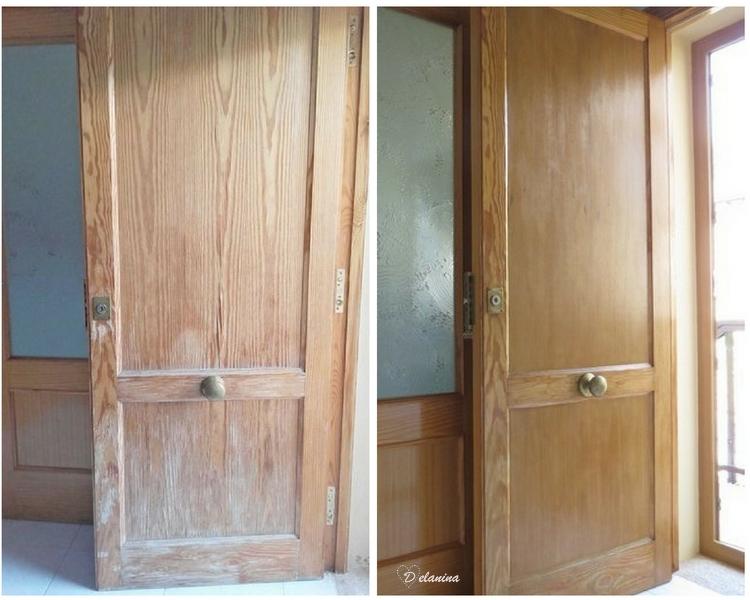 Restaurar una puerta de calle para que luzca como nueva - Como restaurar una puerta de madera ...