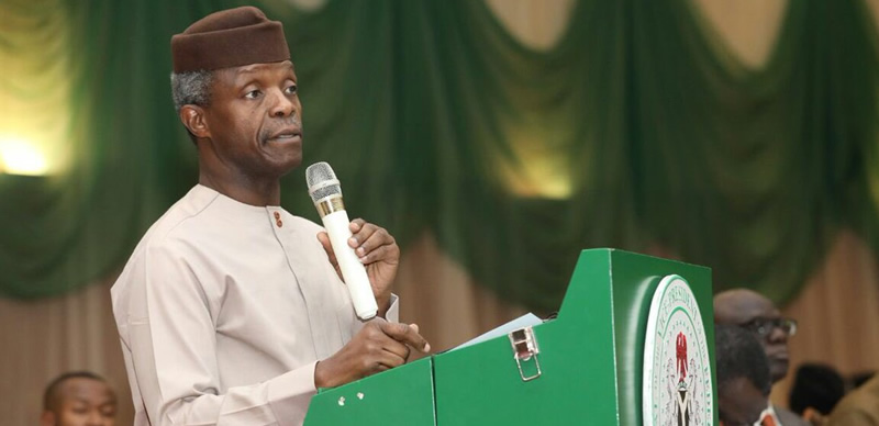Image result for Hate speeches: Osinbajo warns social media influencers