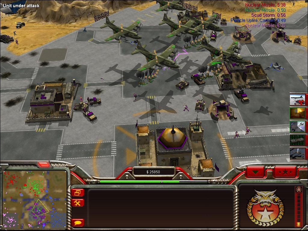 Command & Conquer Generals – Zero Hour ScreenShot 1