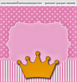 princess crown free printable candy bar labels oh my fiesta in