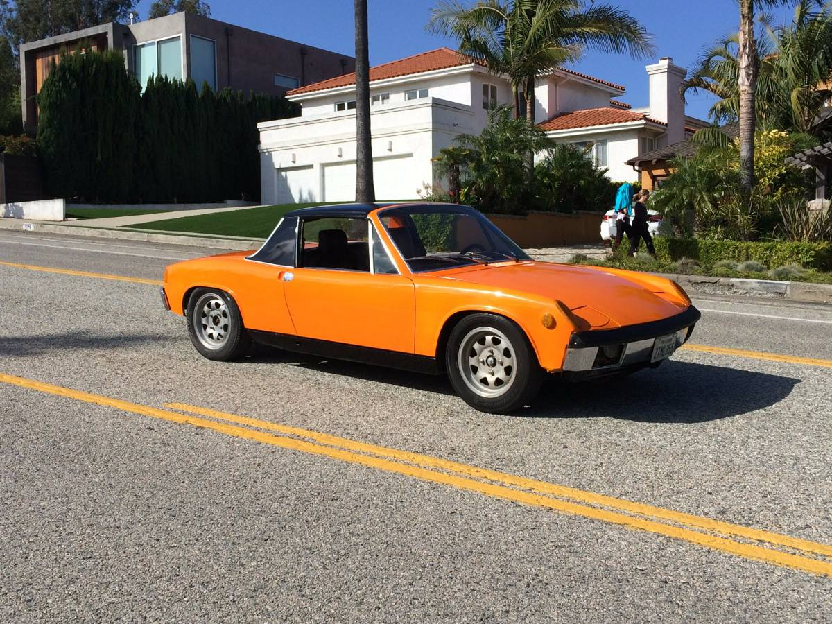 1973 Porsche 914 V8 Renegade Chevy 350 New Paint Price 25000 I Am Offering For My Engine Sports Car