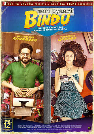 Meri Pyaari Bindu 2017 DVDRip 350Mb Full Hindi Movie Download 480p Watch online Free bolly4u