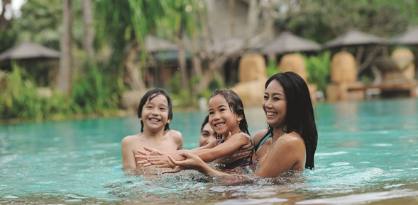 We are also more likely to go on beach holidays with our family members (73 percent) and use the down-time as a chance to catch-up and bond.