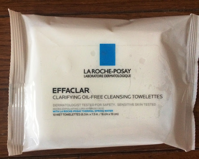 La Roche-Posay Effaclar Towelettes Facial Wipes Review