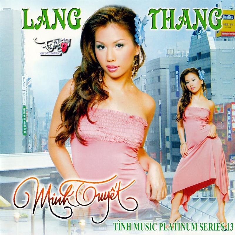 Tình Platinum CD013 - Minh Tuyết - Lang Thang (NRG) + bìa scan mới