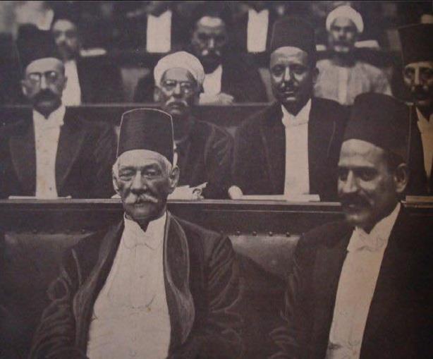 سعد زغلول زعيم الأمة وصورة نادرة له بالبرلمان