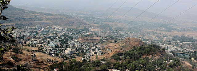 aerial view of Khopoli town