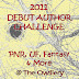 2011 Debut Author Challenge - November Debut Authors