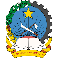 Logo Gambar Lambang Simbol Negara Angola PNG JPG ukuran 200 px