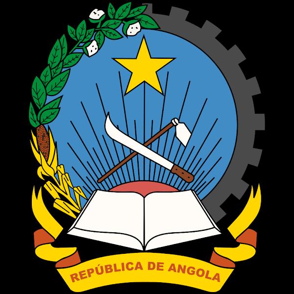 Logo Gambar Lambang Simbol Negara Angola PNG JPG ukuran 600 px