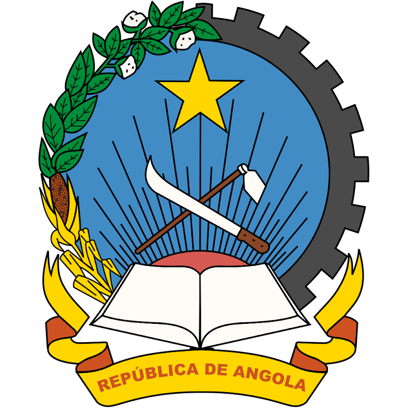 Logo Gambar Lambang Simbol Negara Angola PNG JPG ukuran 800 px