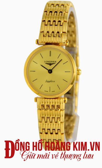 Đồng hồ nữ longines dây inox giá rẻ dưới 2 triệu