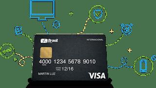 Cartão de crédito Brasil Mesada