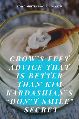 "Crow's Feet Advice That is Better Than Kim Kardashian's ""Don't Smile"" Secret, The Low Country Socialite, Plus Size Blogger, Savannah Georgia, Hinesville Georgia"