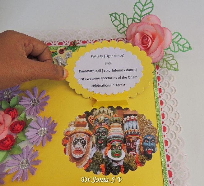 Cards crafts kids projects festivals of india school for Assignment front page decoration