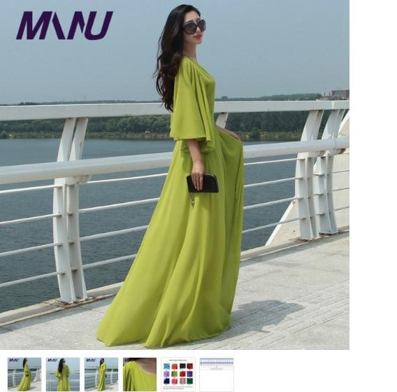 Maroon T Shirt Dress - Purple Green Dress - Best Online Sale In India
