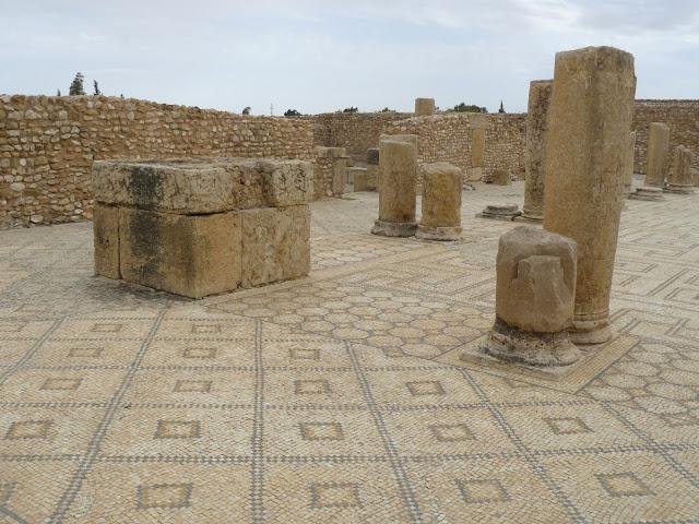 Mosaicos en Sbeitla