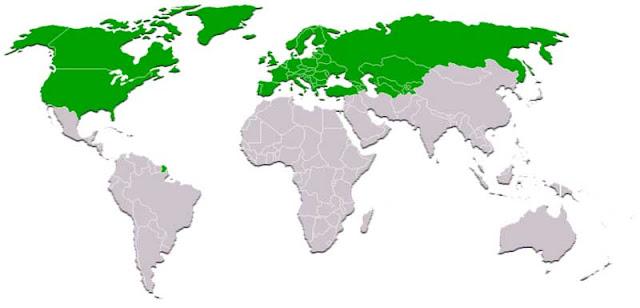 Gambar Peta pola Utara