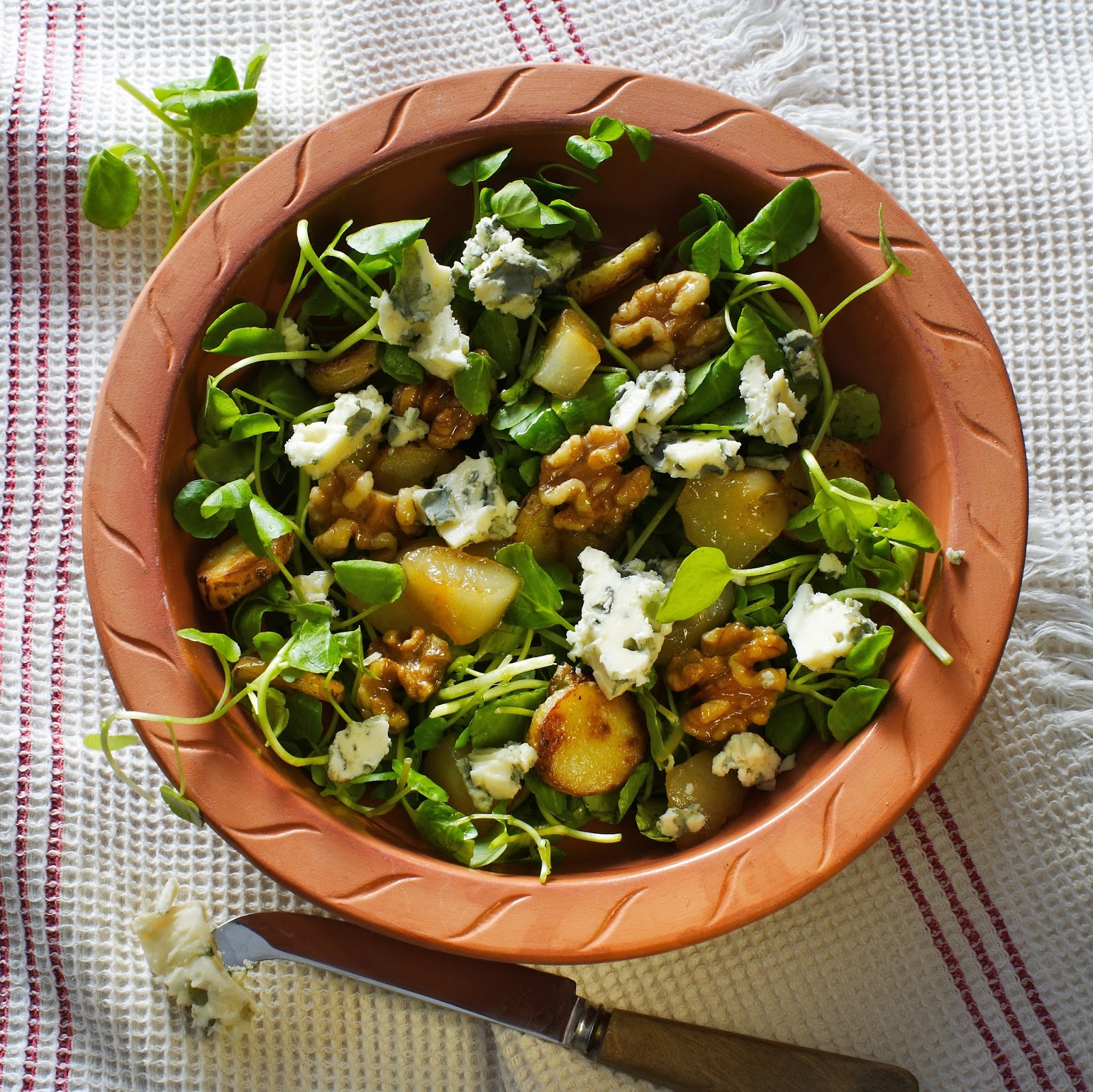 Pear, Walnut And Gorgonzola Salad... | I Wasn't Expecting That
