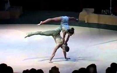 Acrobatic Dancers Stun Crowd With Mind-Blowing Routine