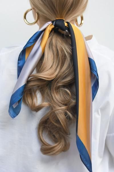 best silk scarf for your hairstyle