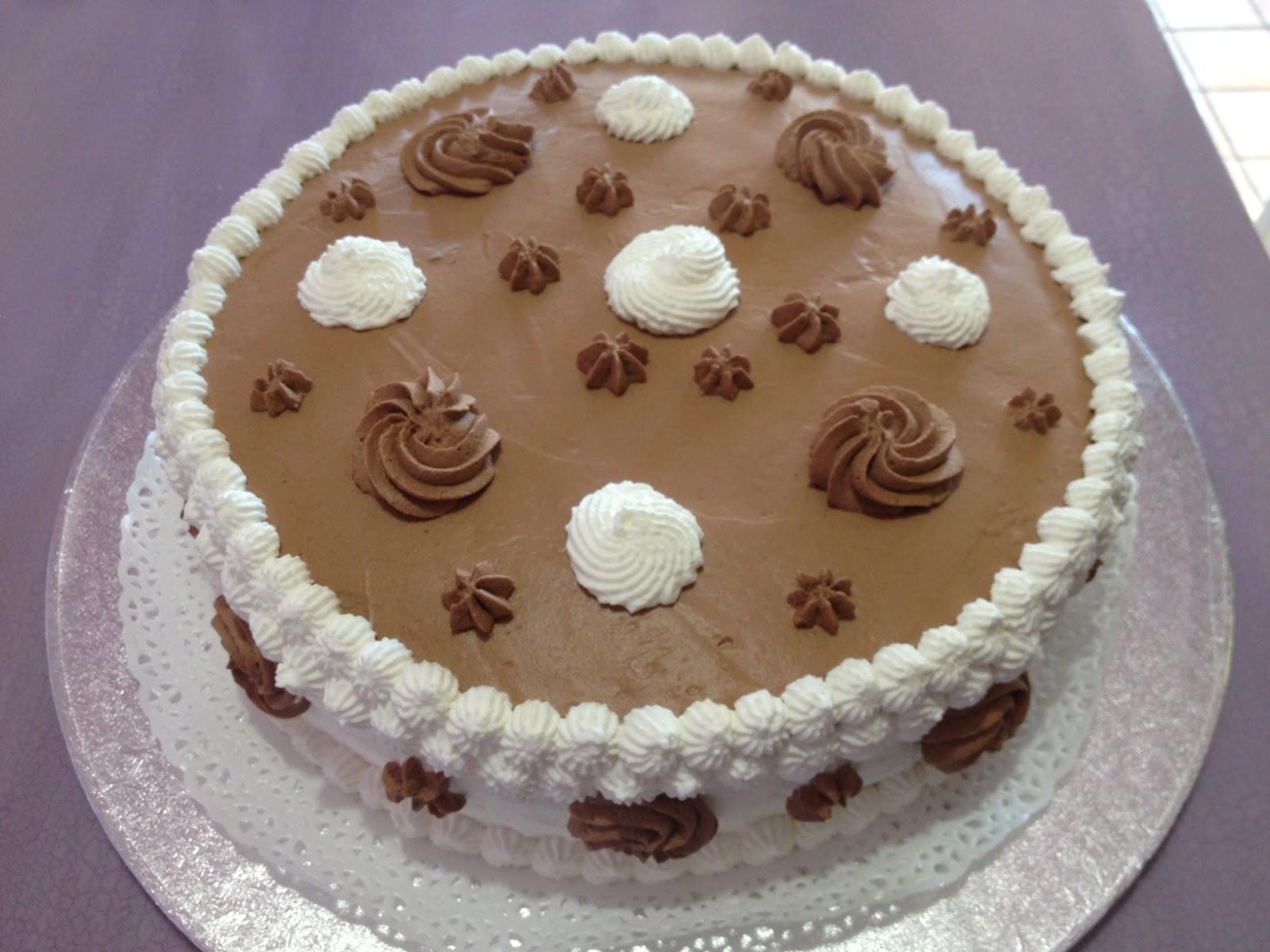 A Casa Di Lory Torta Di Compleanno Panna E Cioccolato