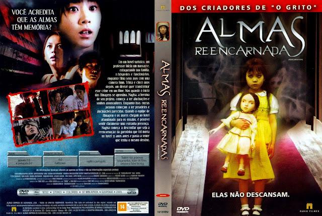 Capa DVD Almas Reencarnadas