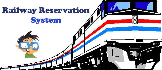 RAILWAY RESERVATION SYSTEM FREE SOURCE CODE | CompileGuru