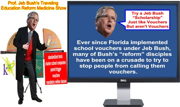 Image result for big education ape Jeb Bush