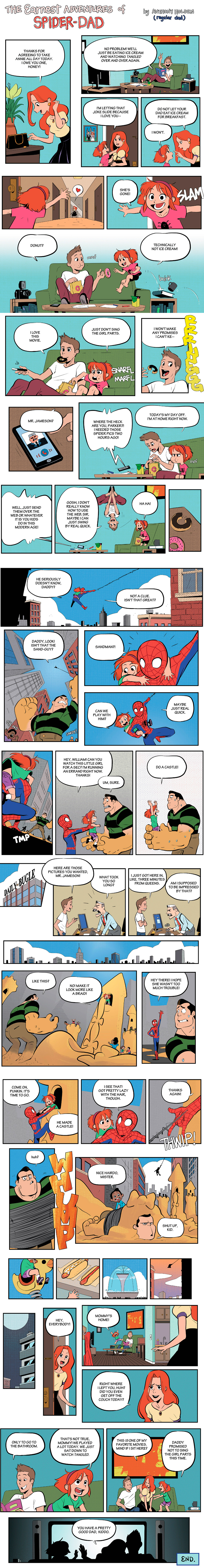 Earnest Adventures Spider-Dad