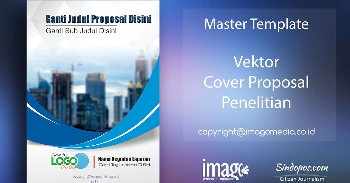 Download Template Desain Cover Proposal Penelitian Imago Media