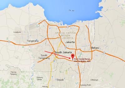 Lokasi PSKW Pasar Rebo
