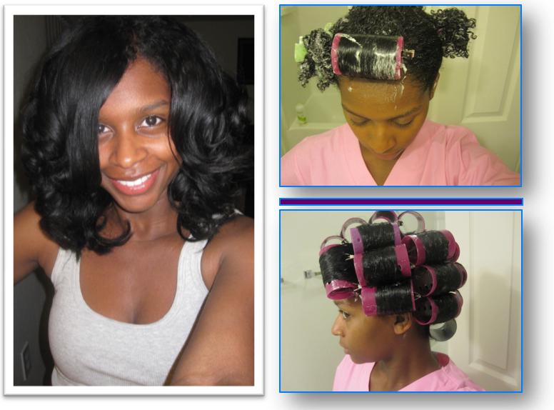 Natural Hair Foam Roller Set