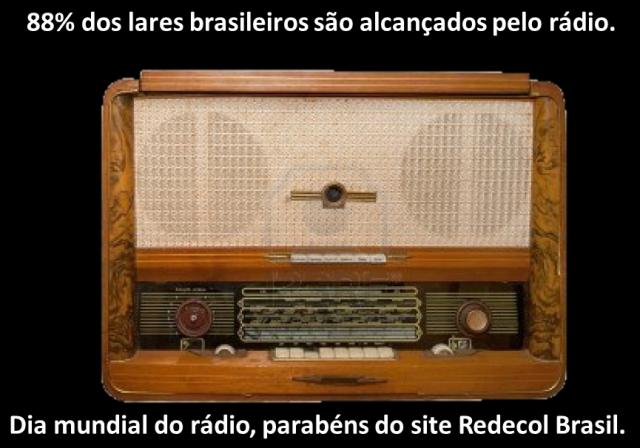 Rádio segue crescendo no Brasil