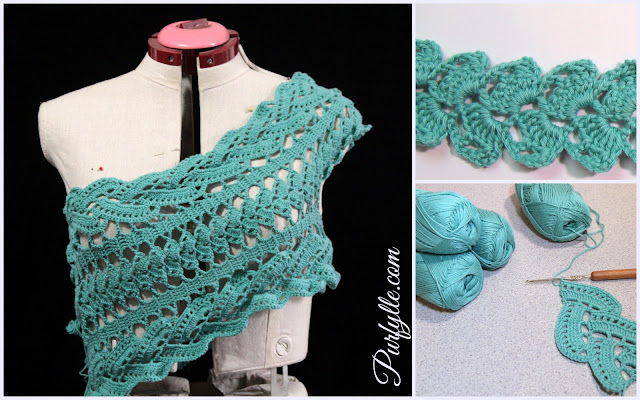 crochet lace tape top