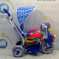 royal baby ball circus double music baby tricycle rocker