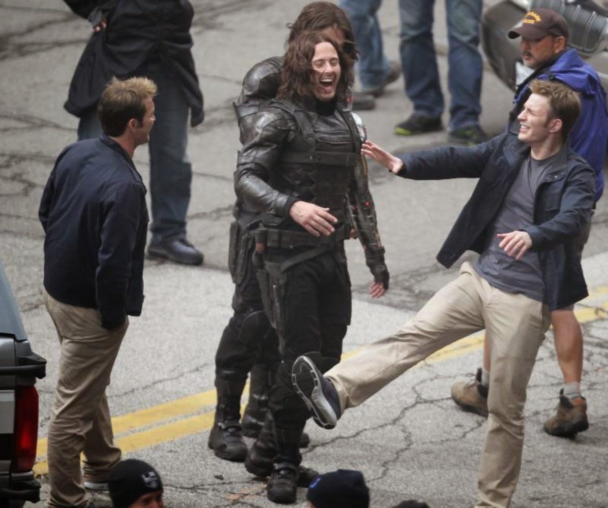 Captain America Winter Soldier Movie Stills