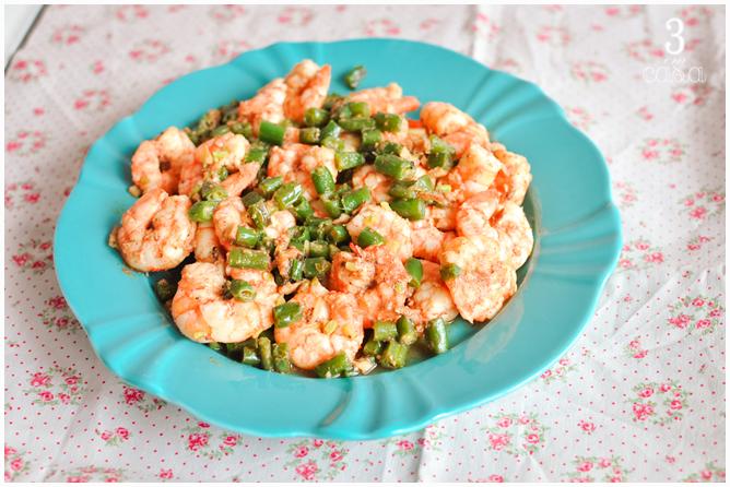 receita camarão gengibre