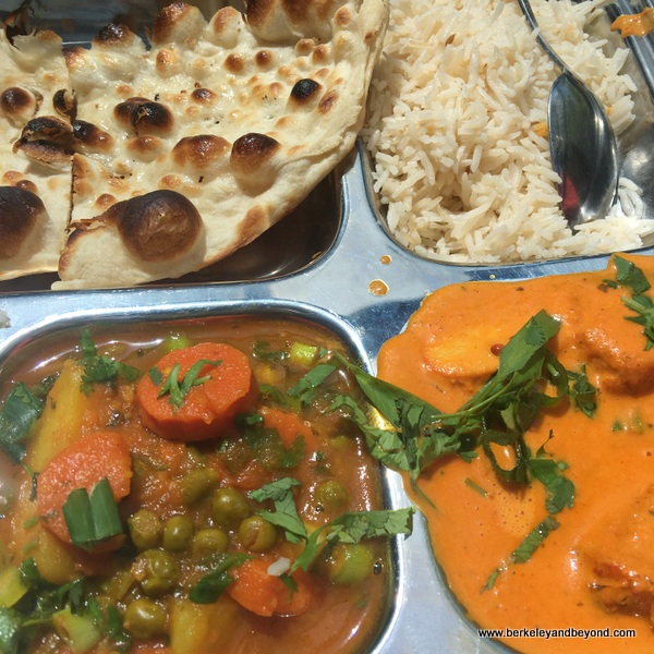 tandoori lunch special at JotMahal Palace of Indian Cuisine in Berkeley, California