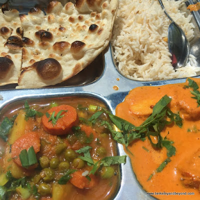 tandoori lunch special at JotMahal Palace of Indian Cuisine in Berkeley, California