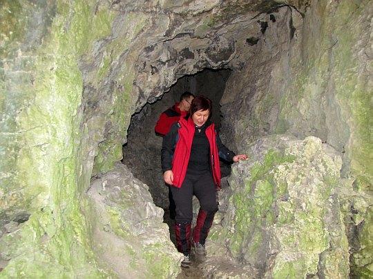 Opuszczamy jaskinię.
