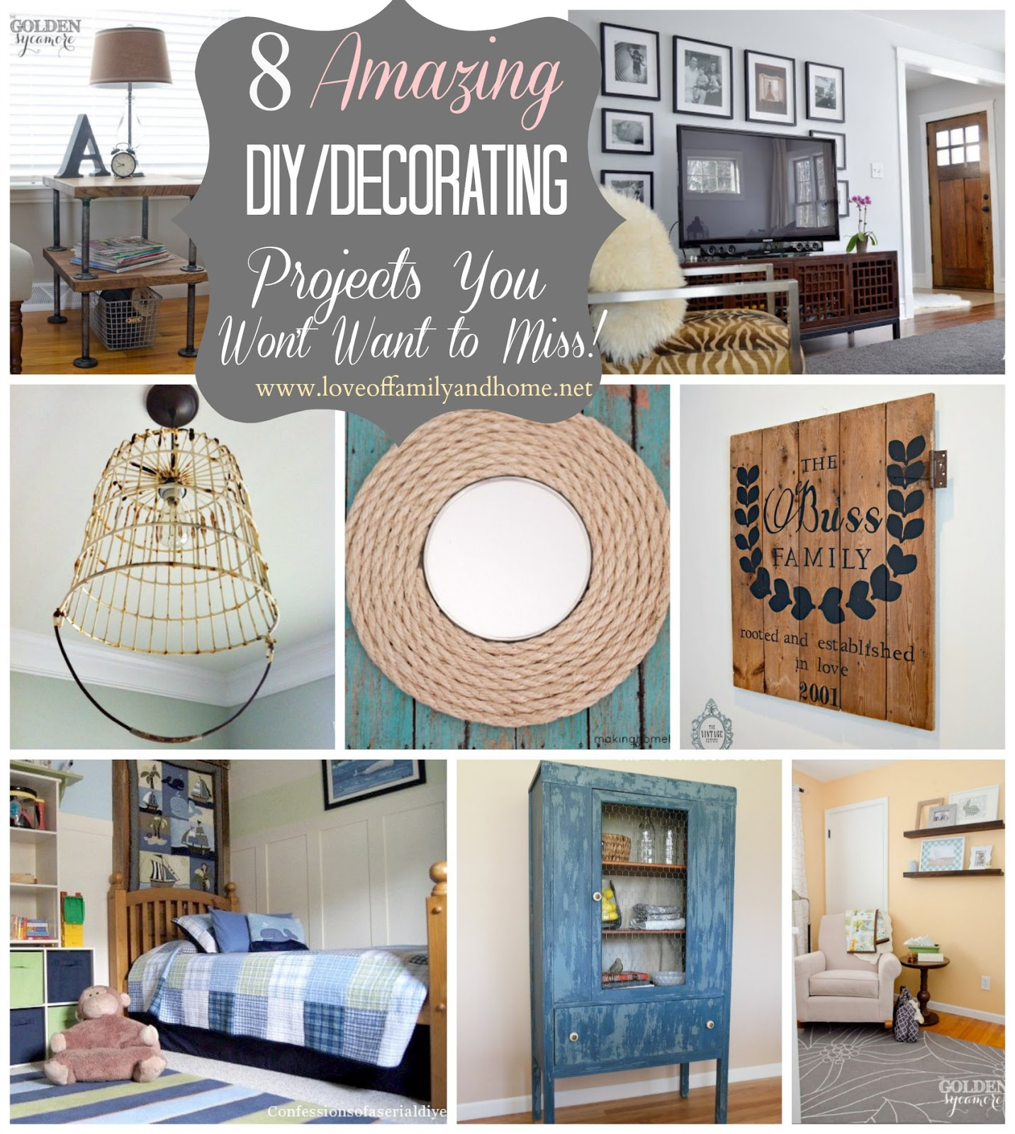Blog Deco Diy Inspire Me Please 3 Weekend Blog Hop Love Of Family And Home