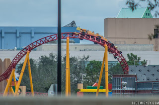 Slinky Dog Dash at Disney's Hollywood Studios Begins Testing!