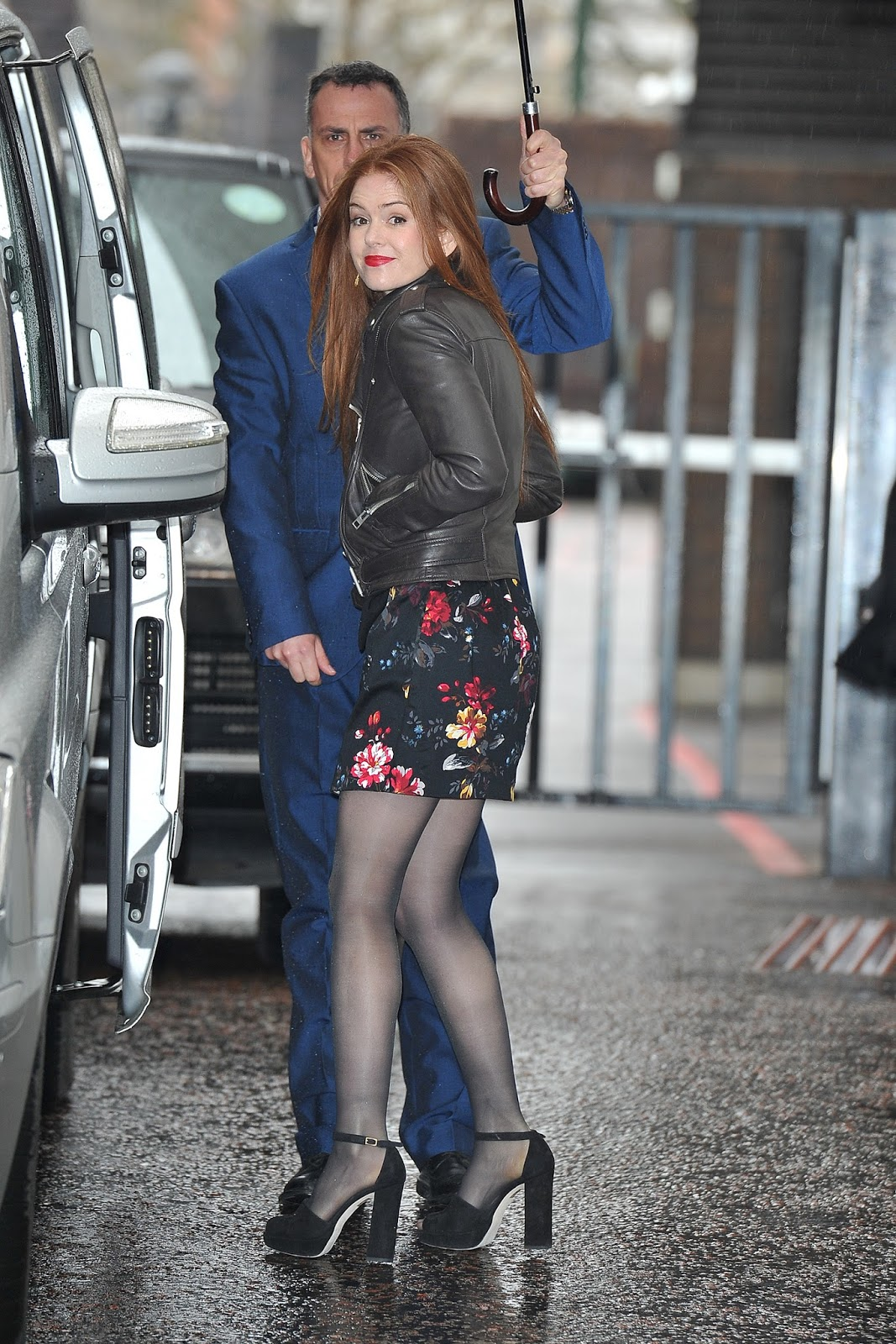 Isla Fisher At Itv Studios In London, February 22, 2016 -5192