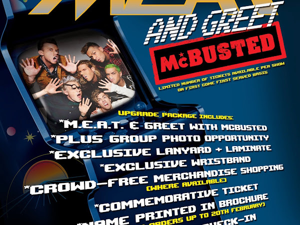 I Need To M.E.A.T and Greet McBusted
