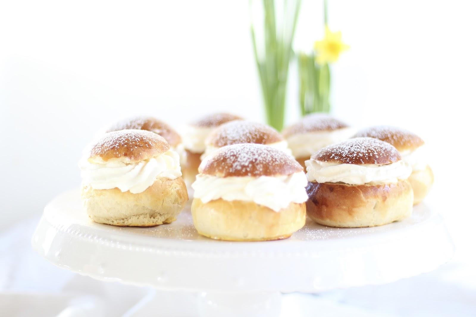 Speiseplan für eine sonnige Frühlingswoche im April: Dänische Semlor