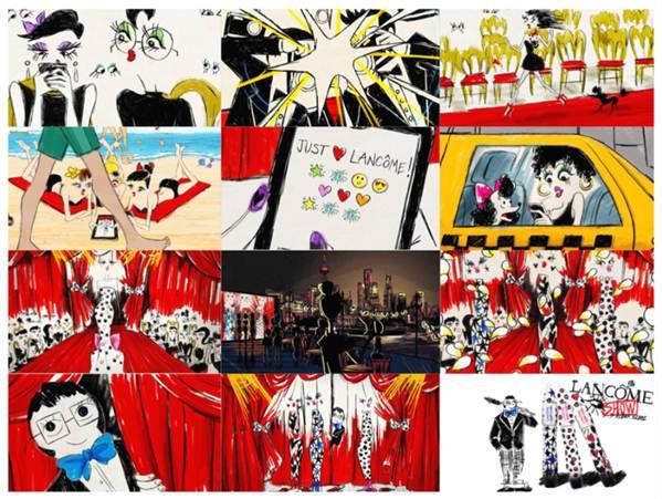 579b238b451 Get ready for the Hypnôse Show by Alber Elbaz and Lancôme! - Fashion ...